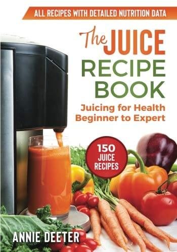 Juice Recipe Book Cover