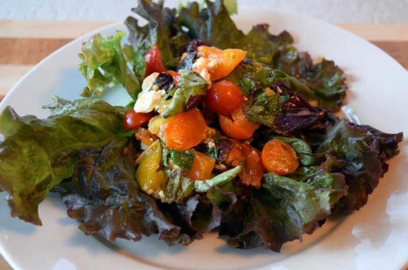 Bruschetta Lettuce Salad