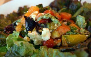 Heirloom and Specialty Tomato Bruschetta Salad
