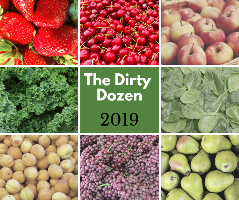 2019 Dirty Dozen Foods List Tops out with Strawberries, Spinach and Kale
